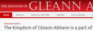 Kingdom of Gleann Abhann
